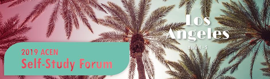 2019 Spring Self-Study Forum | Los Angeles