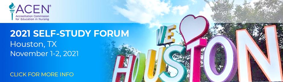 ACEN Self-Study Forum - Houston